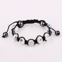 Shamballa Bracelet and Earrings Set